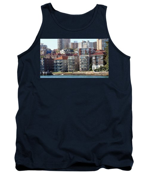 Tank Top featuring the photograph Posh Burbs by Stephen Mitchell