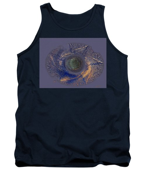 Tank Top featuring the painting Possible Asymmetric Big Bang 2 by David Klaboe