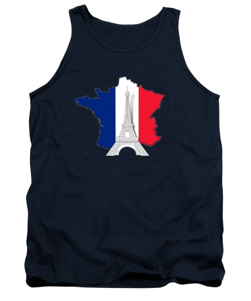 Pray For Paris Tank Top