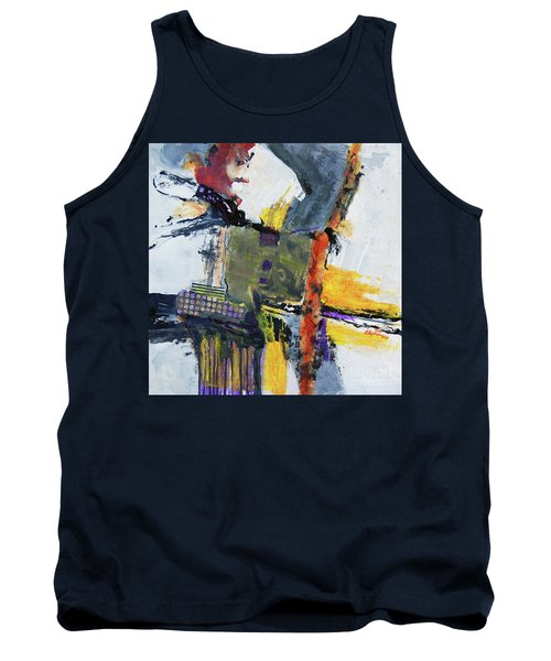 Tank Top featuring the painting Precarious by Ron Stephens