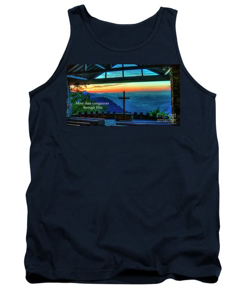 Pretty Place Chapel Through Him Art Tank Top