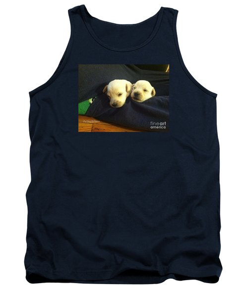 Puppy Love Tank Top by MaryLee Parker