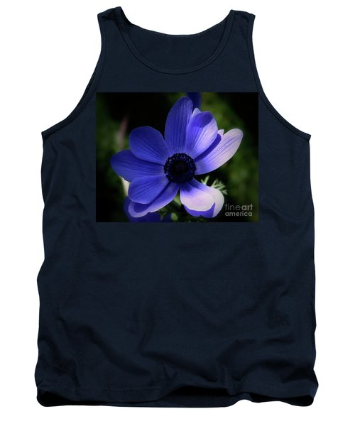 Purple Anemone Tank Top by Stephen Melia