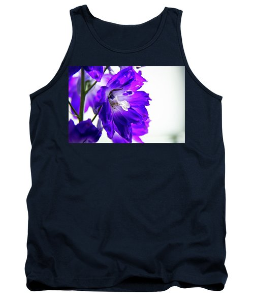 Purpled Tank Top by David Sutton