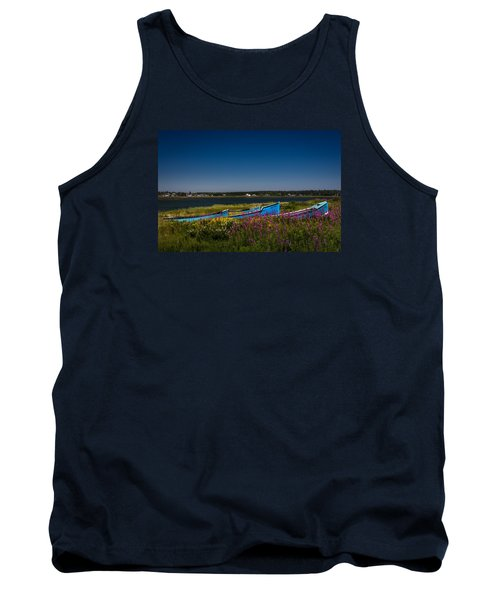 Put Out To Pature Tank Top by Peter Scott
