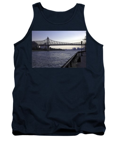Queensboro Bridge - Manhattan Tank Top by Madeline Ellis