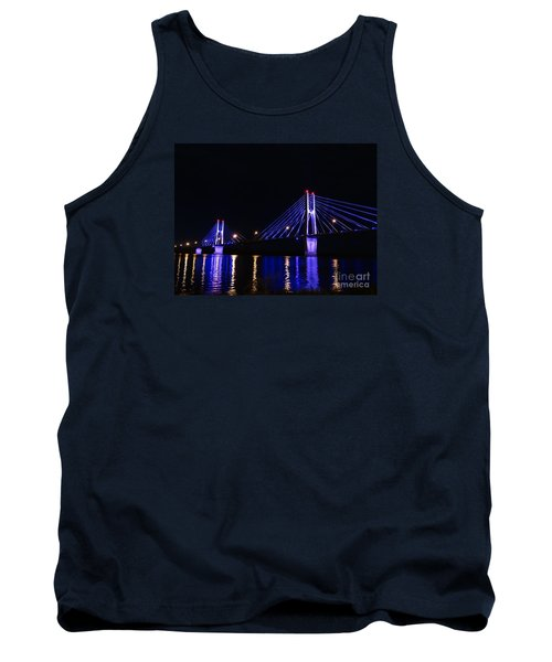 Quincy Bay View Light Reflection Tank Top by Justin Moore