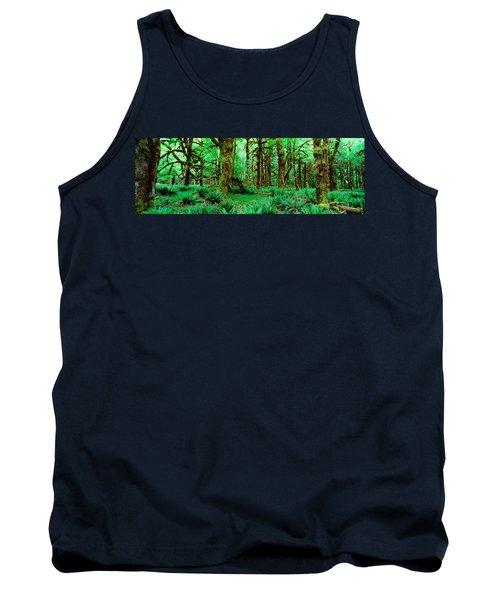 Rain Forest, Olympic National Park Tank Top by Panoramic Images