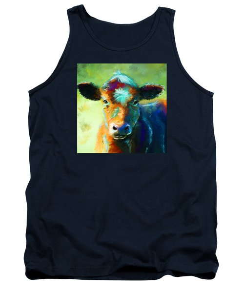 Rainbow Calf Tank Top