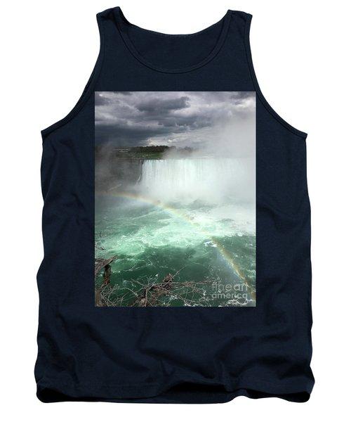 Rainbow Over Niagara Falls Tank Top