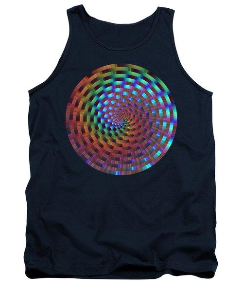 Rainbow Rings Spiral Tank Top