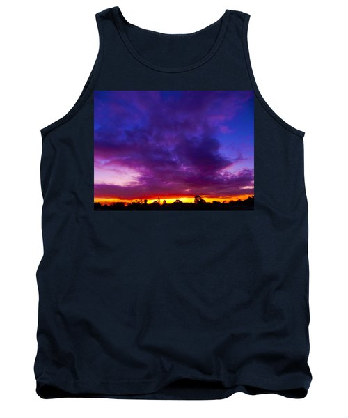 Rainbow Sunset Tank Top