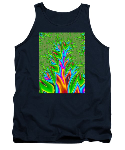 Tank Top featuring the photograph Rainbow Tree by Ronda Broatch