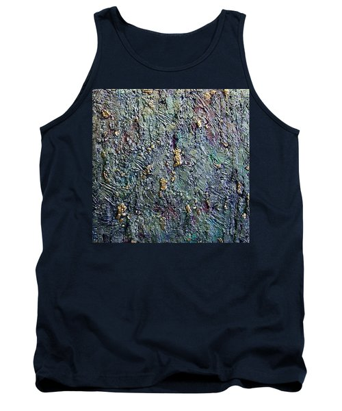Tank Top featuring the painting Rainbows End by Bernard Goodman