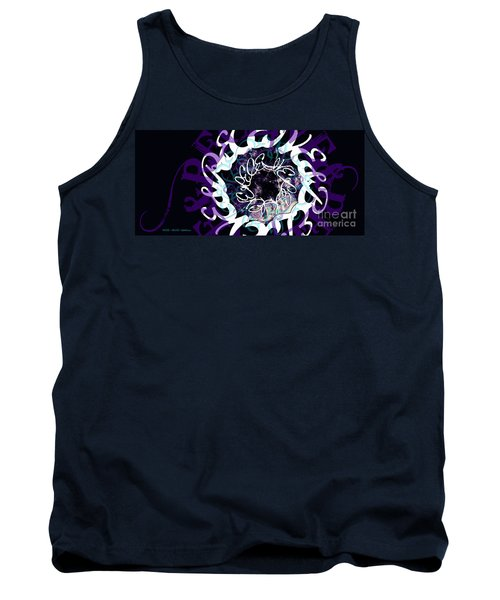 Receive And Believe In Black Tank Top