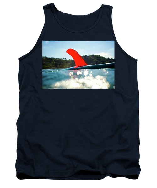 Red Fin Tank Top