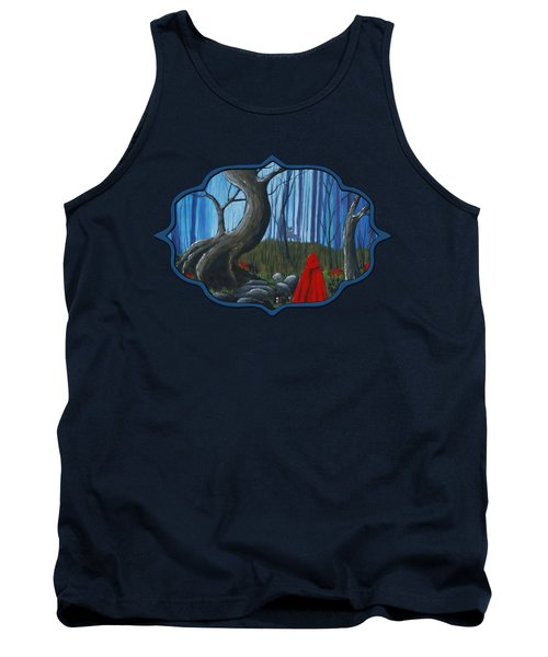 Red Riding Hood In The Forest Tank Top