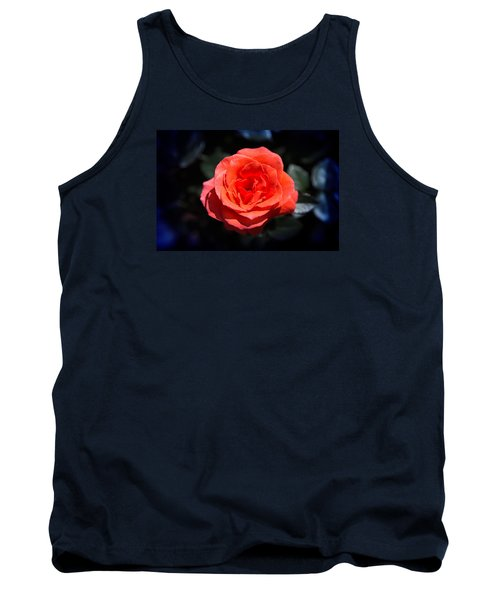 Red Rose Art Tank Top by Milena Ilieva