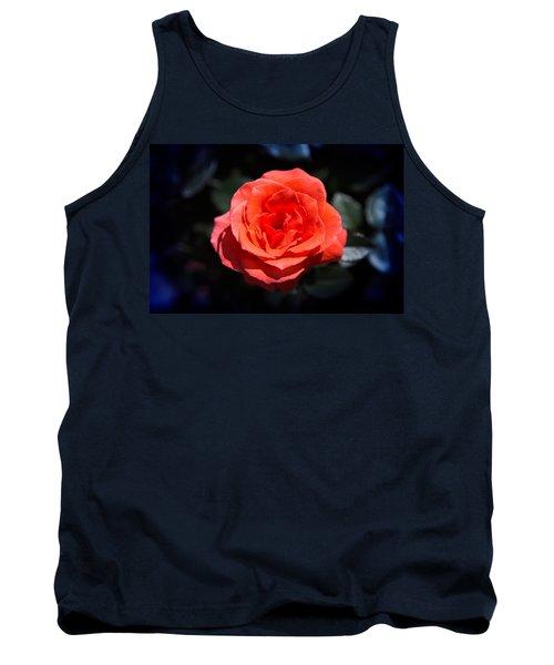 Red Rose Art Tank Top