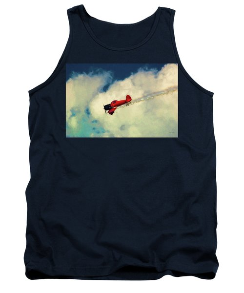 Red Sky Writer Tank Top by Trey Foerster