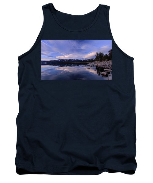 Reflection In Winter Tank Top