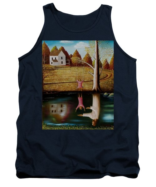 Reflection Of Protection. Tank Top