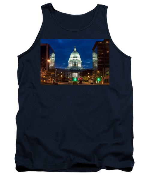 Reflection Surrounded Tank Top