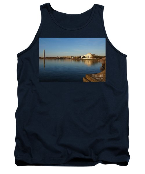 Reflections  Tank Top by Megan Cohen