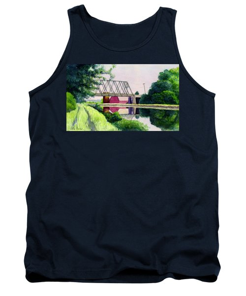 Reflections On The Erie Canal Tank Top
