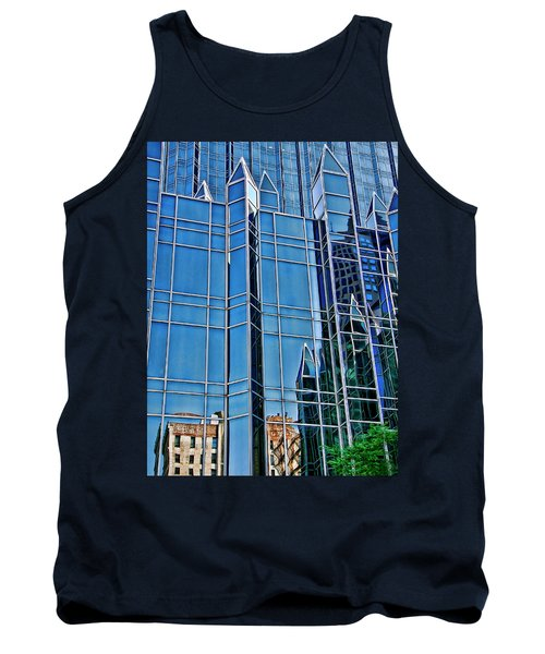 Tank Top featuring the photograph Reflections by Rhonda McDougall