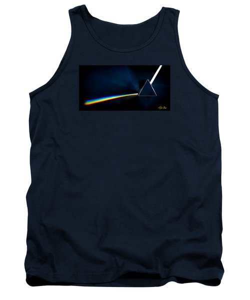 Tank Top featuring the photograph Refraction  by Rikk Flohr