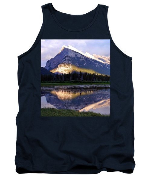 Mount Rundle Tank Top by Heather Vopni