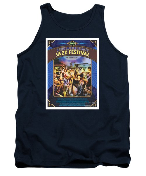 Rehoboth Beach Jazz Fest 2015 Tank Top
