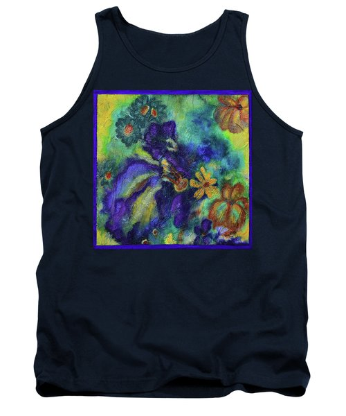 Remember The Flowers Tank Top by Donna Blackhall