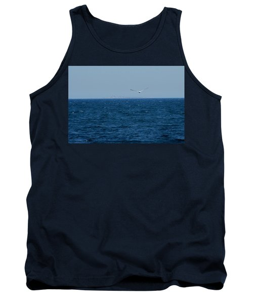 Tank Top featuring the digital art Return To The Isle Of Shoals by Barbara S Nickerson
