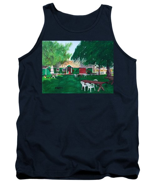Retzlaff Winery Tank Top by Mike Robles