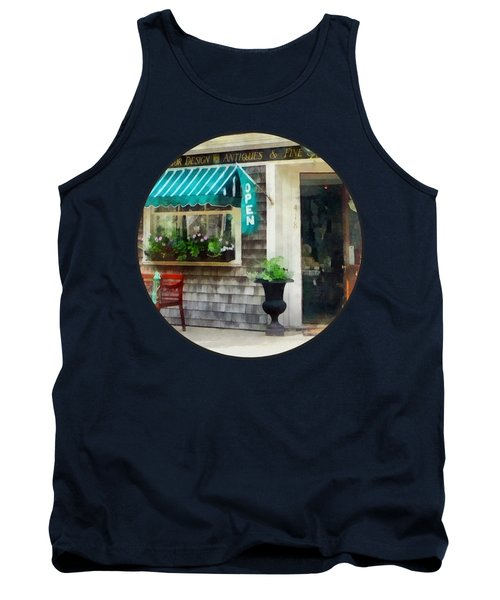 Rhode Island - Antique Shop Newport Ri Tank Top