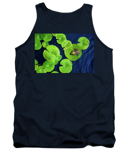 Tank Top featuring the photograph Ribbit by Greg Fortier