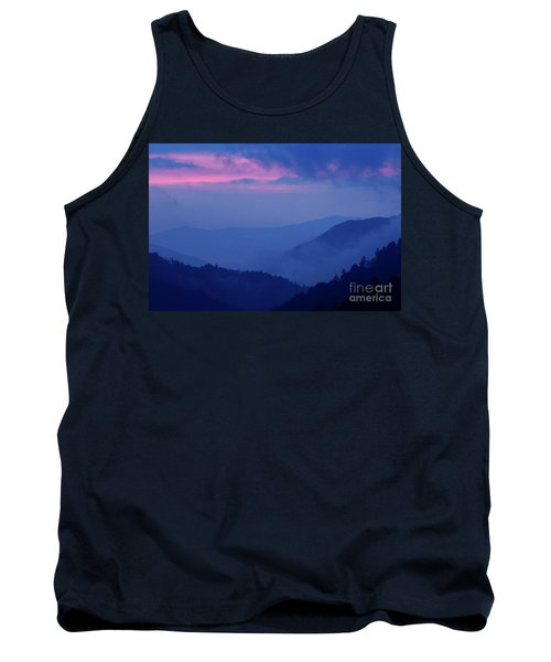 Tank Top featuring the photograph Ridges - D000023 by Daniel Dempster