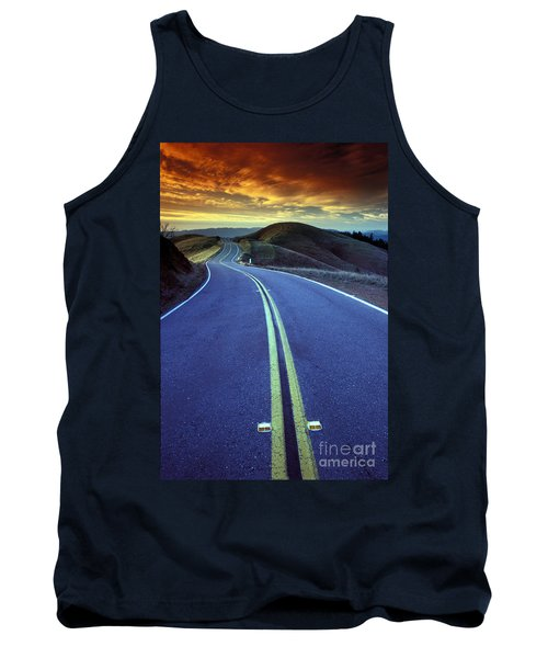 Road In The Mountains Tank Top