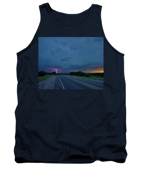 Road To The Storm Tank Top by Ed Sweeney