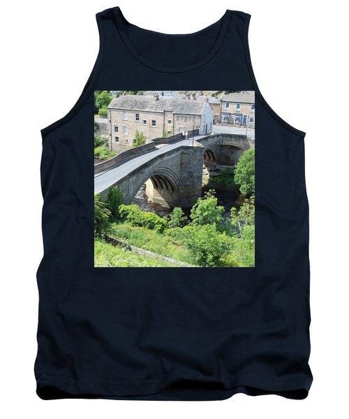 Roadbridge Over The River Tees Tank Top