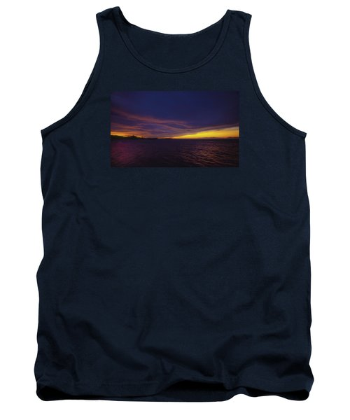 Roatan Sunset Tank Top by Stephen Anderson