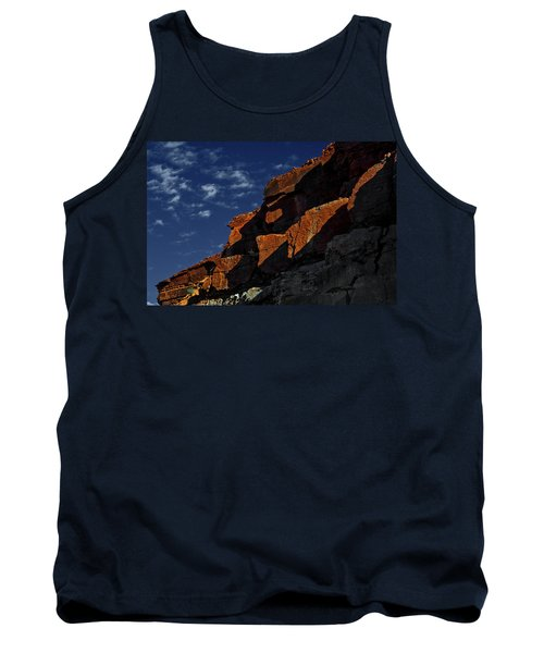 Sky And Rocks Tank Top