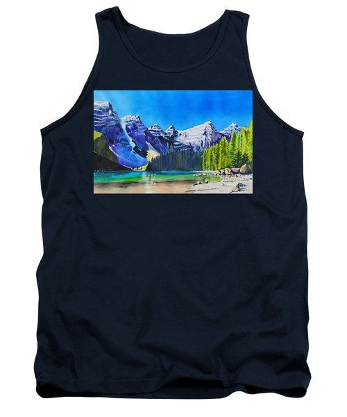 Rocky Mountain Sunrise Tank Top