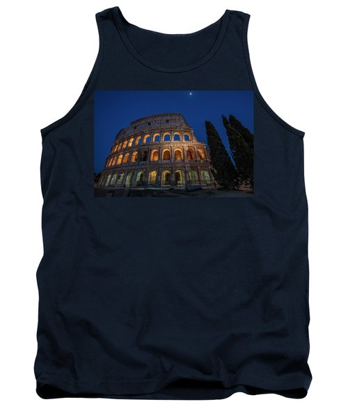 Roman Coliseum In The Evening  Tank Top