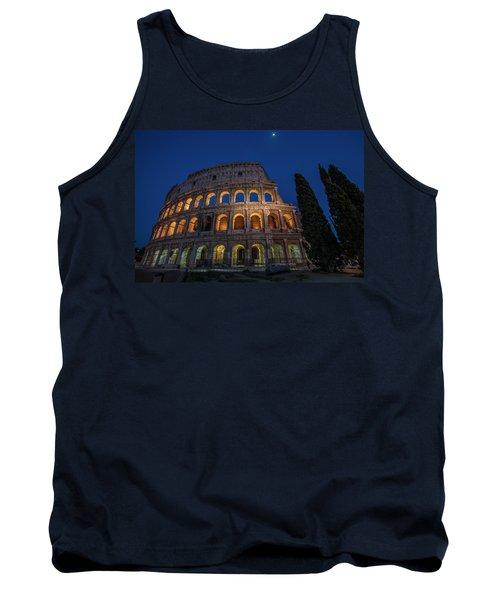 Roman Coliseum In The Evening  Tank Top