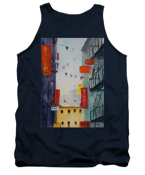 Ross Alley1 Tank Top by Tom Simmons