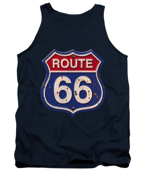 Route 66 Shirt Tank Top
