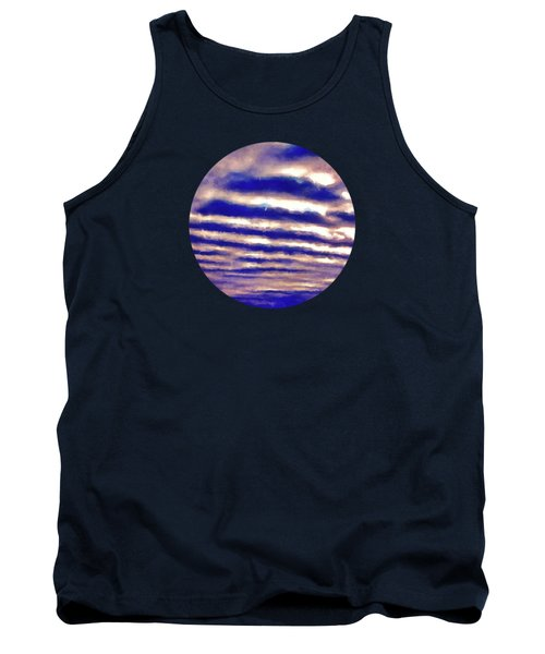 Rows Of Clouds Tank Top by Phil Perkins
